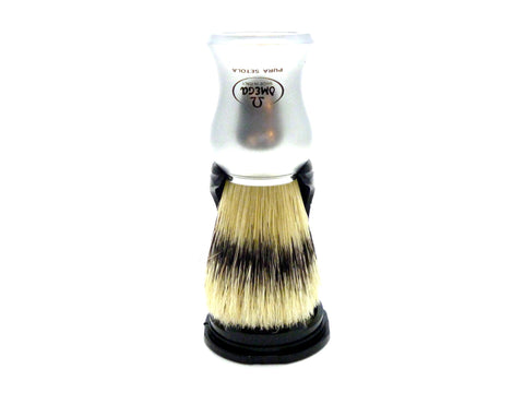 Omega 81229 100% Banded Boar bristle shaving brush