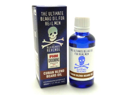 Bluebeards Revenge Cuban Beard Oil