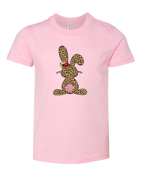 Leopard Bunny-Pink