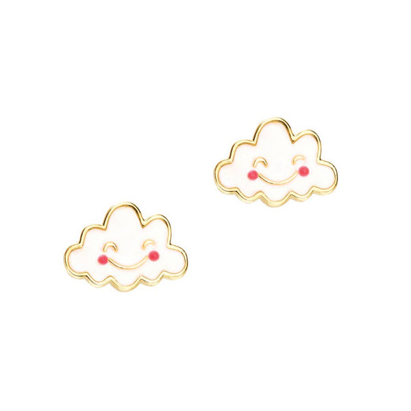Happy Cloud Cutie Stud