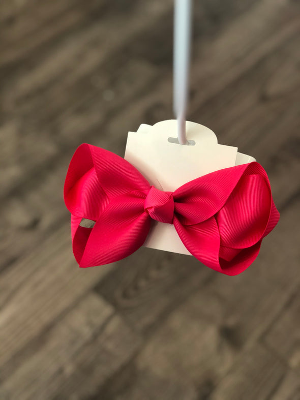 Pink 5-inch Bow