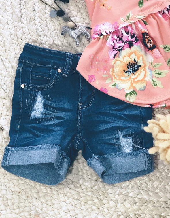 zGirls' Denim Shorts