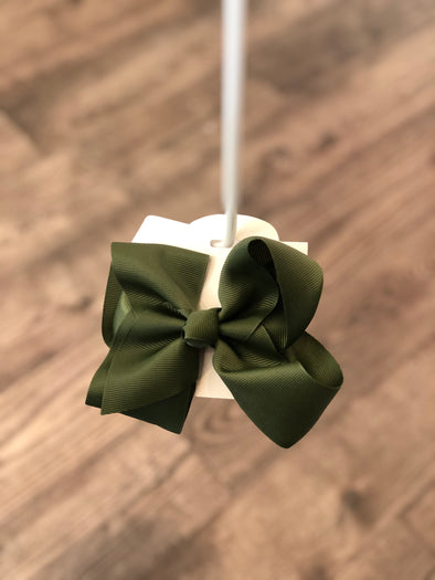 Olive 5-inch Bow