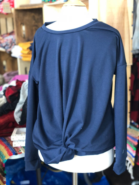 Courtney Top- Navy