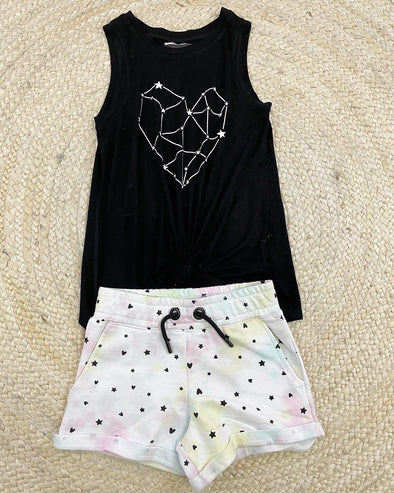 Constellation Heart & Stars Tank