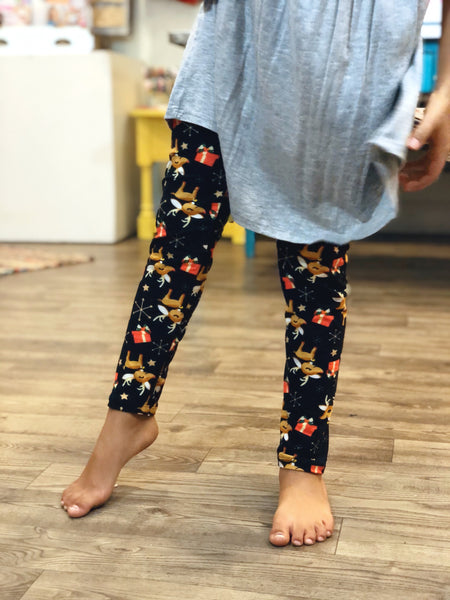 Reindeer Gifts Leggings