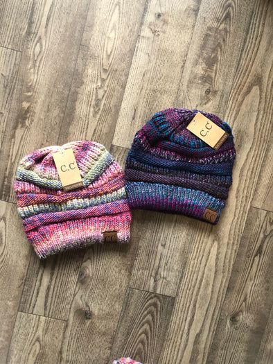 CC Beanie Cable Knit Hat