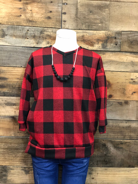 Valerie Buffalo Plaid-Toddler