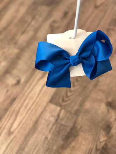 Electric Blue 5-inch Bow
