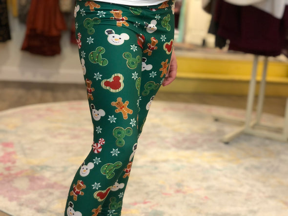 Holiday Mini Cookies Leggings