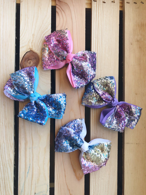 Sequin Bow