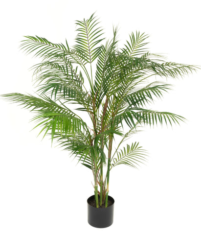 120cm deluxe faux parlour palm trees