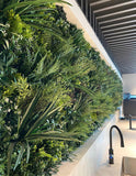 Deluxe quality artificial living wall panels