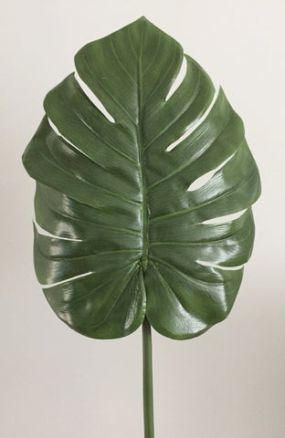 Artificial Monstera Leaf
