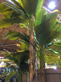 Natural Tree Trunk Artificial Banana Tree Commercial Interiors
