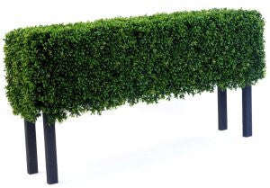 Artificial hedges for outdoor use