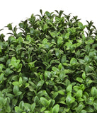 UV Fire Retardant Artificial Boxwood Hedge Mat 25cm