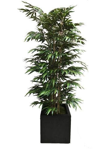 Deluxe Fire Resistant Flame Retardant Artificial Bamboo Tree in Planter