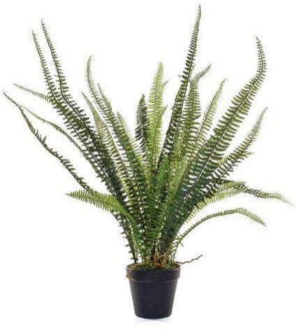Faux fern plant by Artificial Green