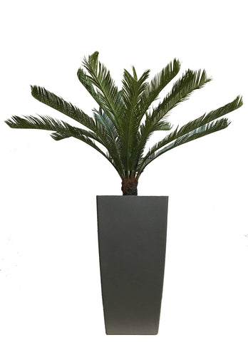Outdoor Deluxe Artificial Cycas Palm Plant UV Resistant