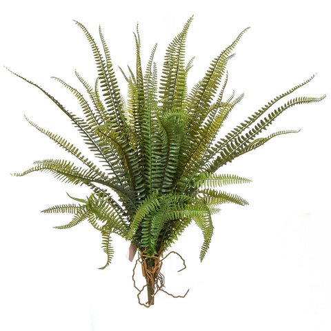 Large Artificial Boston Fern Plant Stem 58cm
