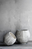 Sarah pot in white by Lene Bjerre Design