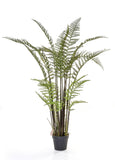 Tall Artificial Forest Fern Plant