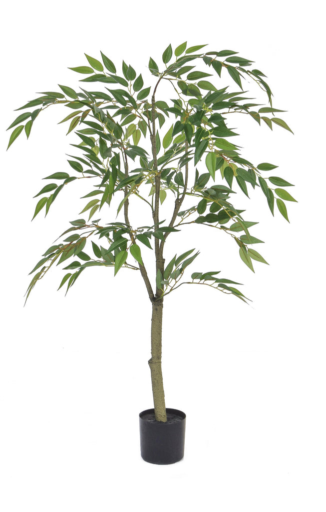 Ficus Benjamina Weeping Fig Tree Artificial Green