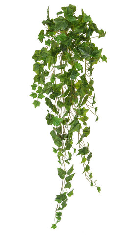 Faux trailing ivy bush plant