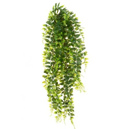 Artificial Trailing Fern Plant 60cm Fire Retardant