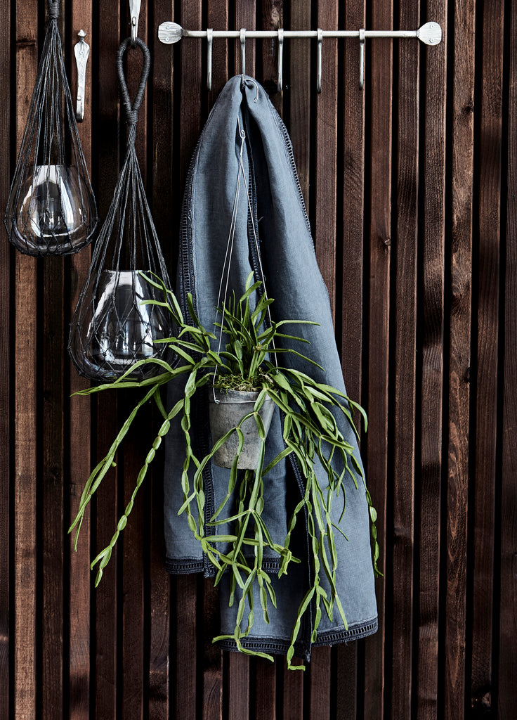 Hanging Bamboo Planters