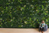 High quality FR outdoor artificial green wall panels