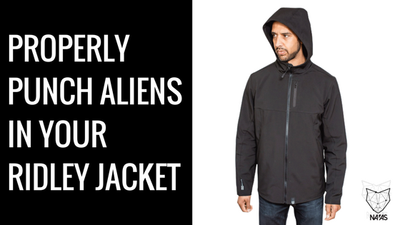 Spotlight: Ridley - The Softshell Jacket You Can Punch An Alien In