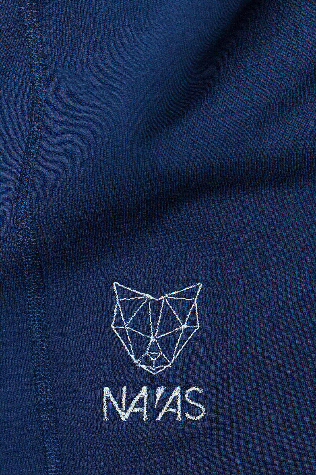 The Billy Men's Tall Sweatshirt in Blue with Logo Detail by Navas Lab Apparel