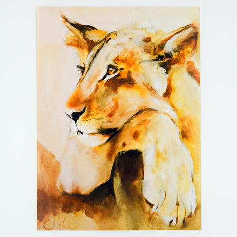 Animal Fine Art Giclee Print - Lioness
