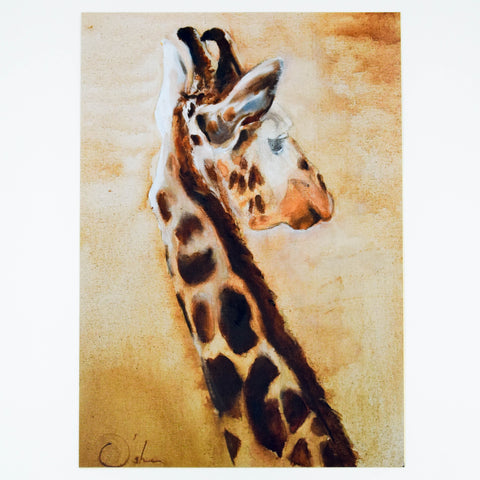 Animal Fine Art Giclee Print - Giraffe