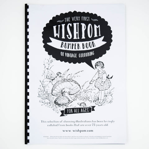 The Very First Wishpom Bumper Book of Vintage Colouring