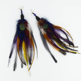 Feather Earrings - Mana528 | incube8r gallery