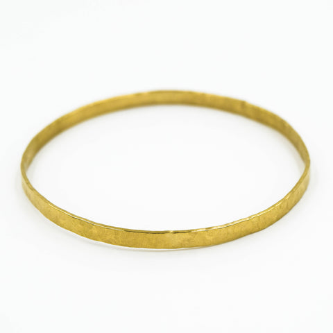 Hammered Band Bangle - Meena Song | incube8r gallery