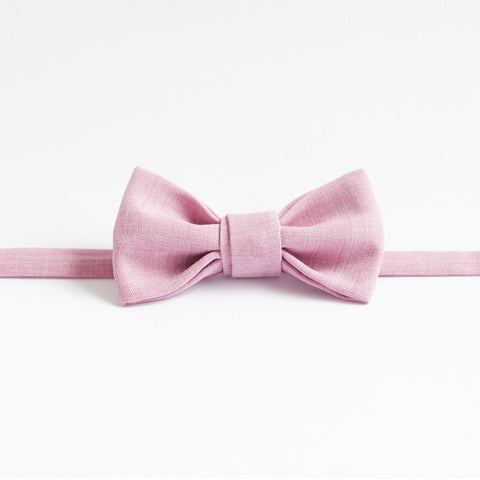 Bowtie in Musk Pink by bties