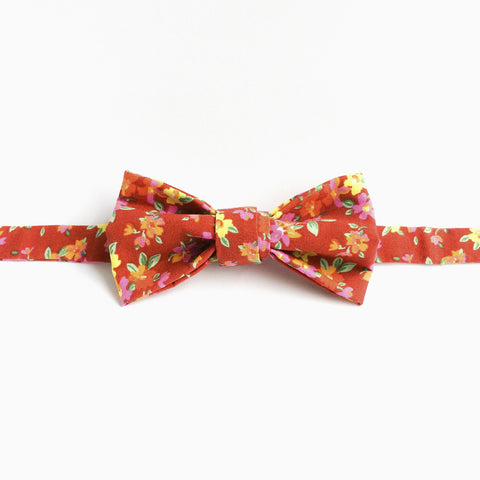 Bowtie in Red Floral by bties