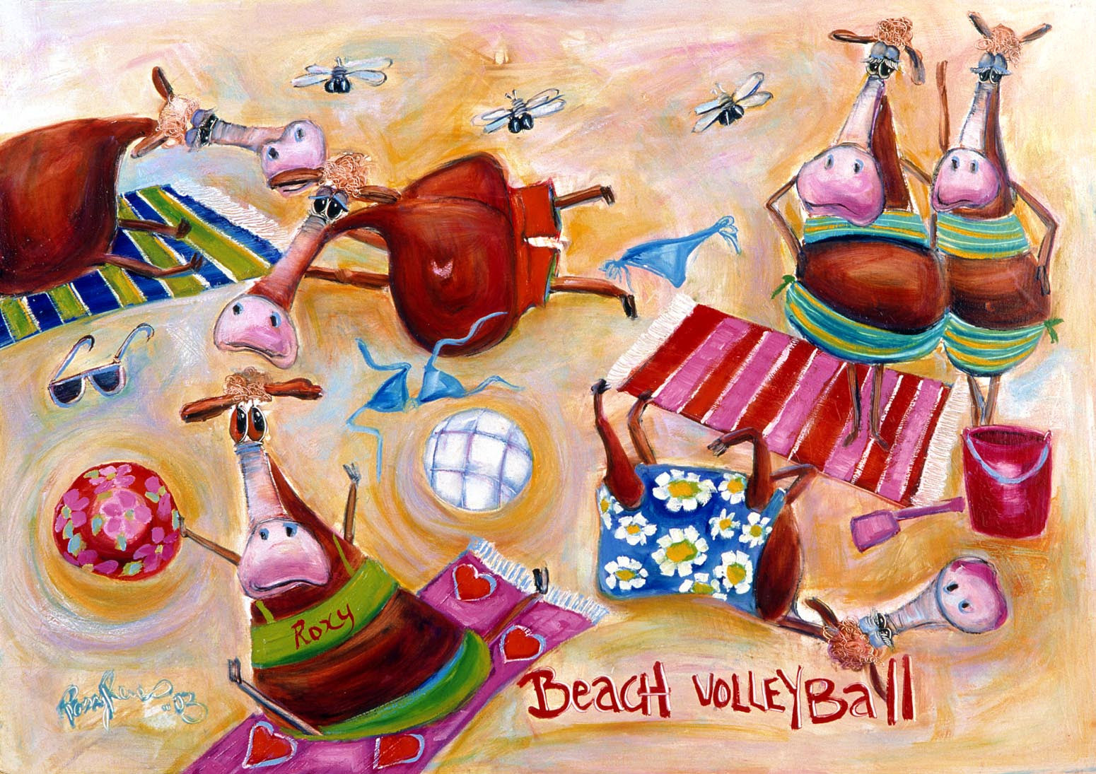 Beach Volleyball - Year 2003