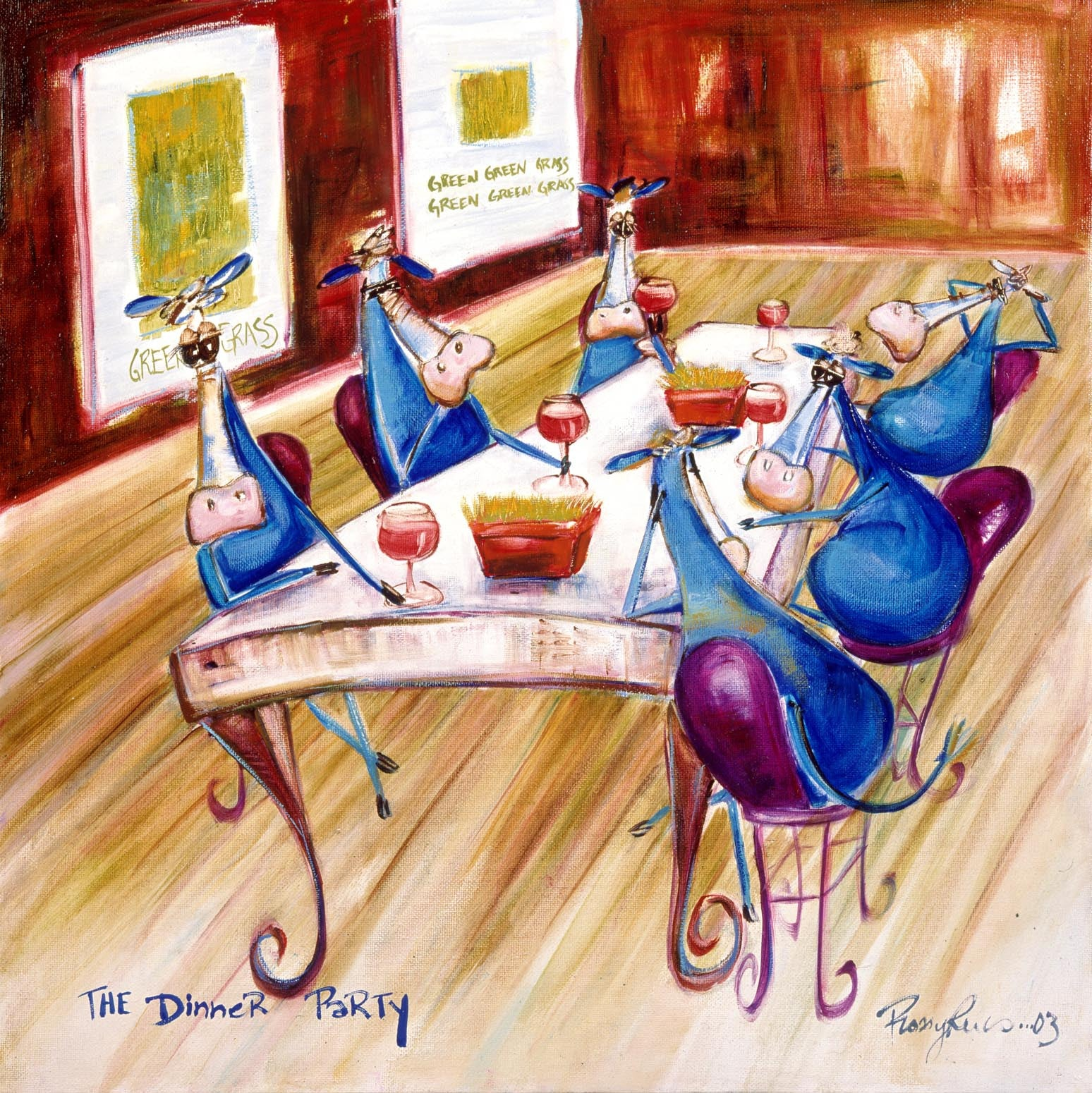 THE DINNER PARTY - YEAR 2003