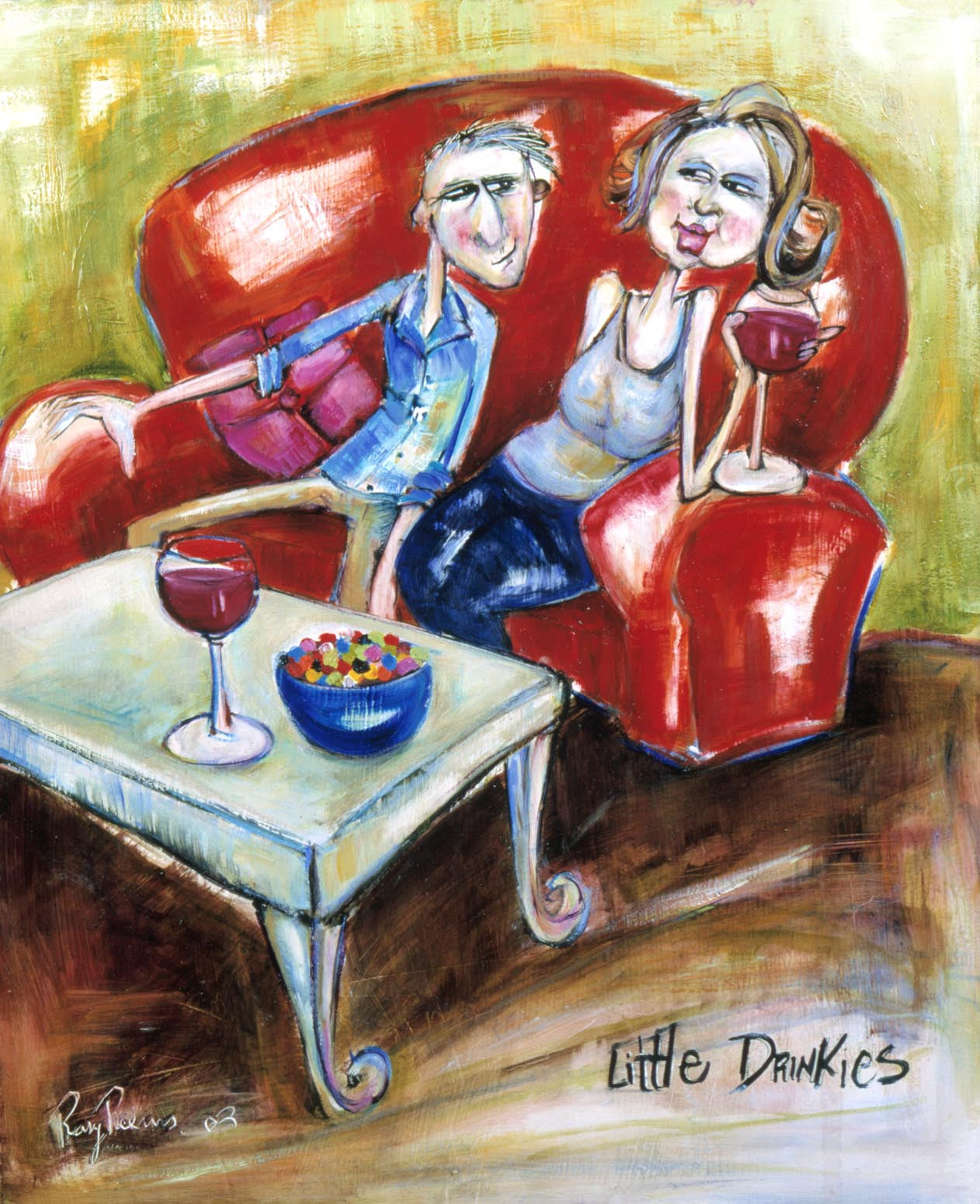 LITTLE DRINKIES - YEAR 2003