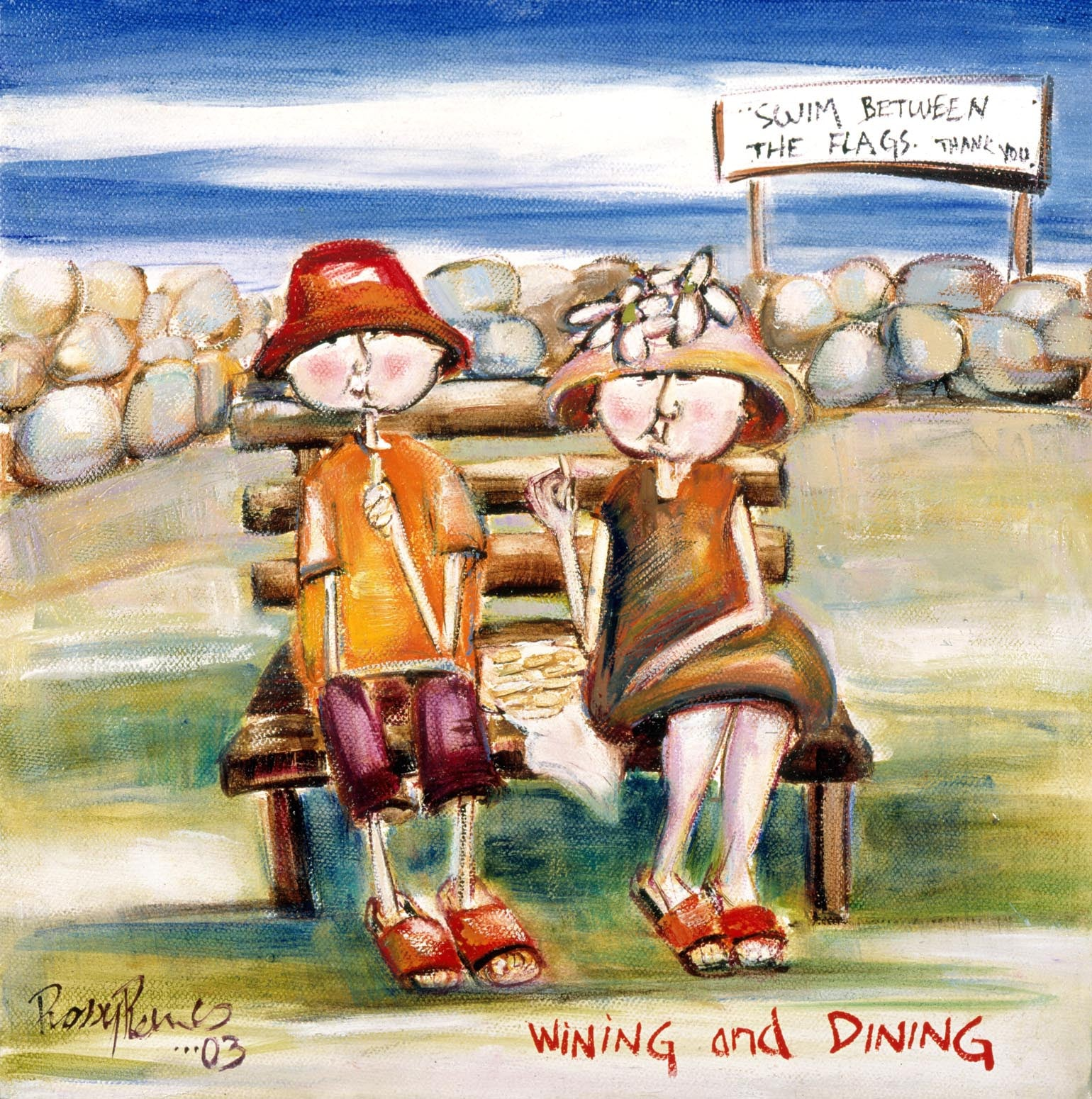 WINING AND DINING - YEAR 2003