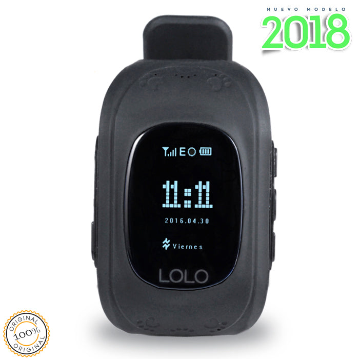 Modelo 2018: LOLO BLACK - LOLO MY FIRST CELL PHONE