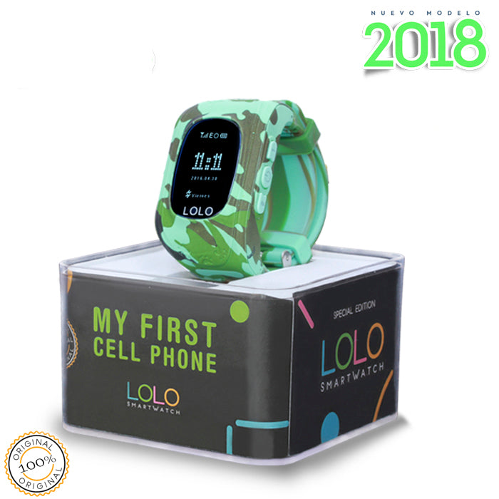 Modelo 2018: LOLO CAMO BLUE - LOLO MY FIRST CELL PHONE