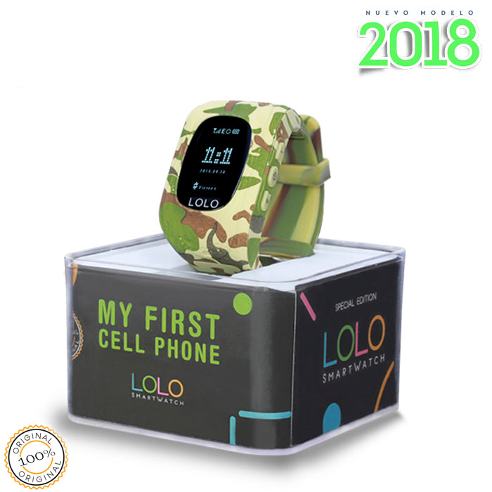 LOLO CAMO GREEN - LOLO MY FIRST CELL PHONE
