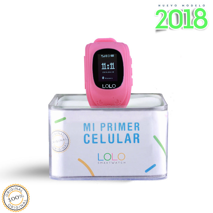 Modelo 2018: LOLO PINK - LOLO MY FIRST CELL PHONE