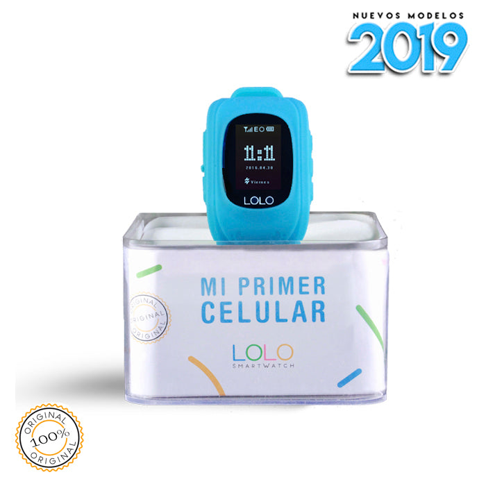 NUEVO 2019 LOLO BLUE - LOLO MY FIRST CELL PHONE
